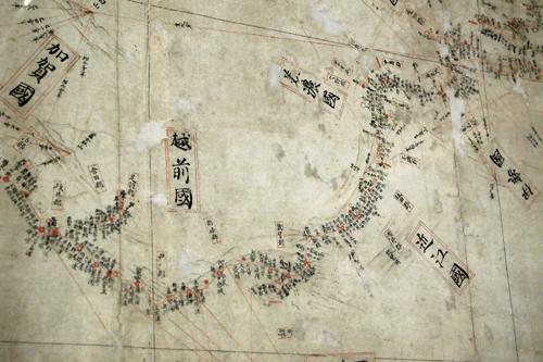 古橋懐古館所蔵 伊能忠敬の描いた地図「伊能図」