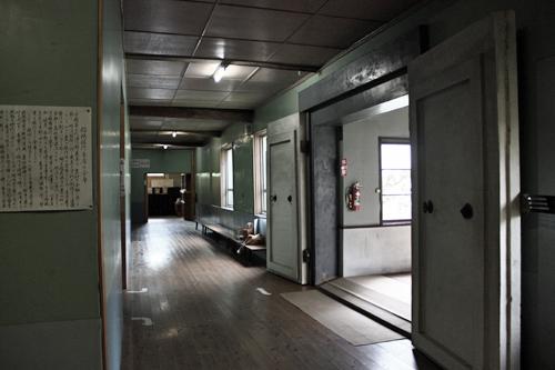 古橋懐古館 廊下